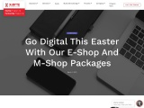 eCommerce App Development | E-Shop and M-Shop Packages | X-Byte Enterprise Solutions