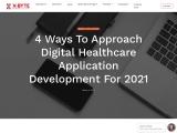 4 ways to approach digital top healthcare app development in 2021