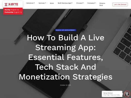 How to Build a Live Streaming App: Essential Features, Tech Stack and Monetization Strategies
