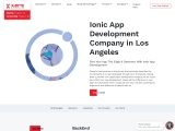 Top Ionic App Development Company in Los Angeles, USA | X-Byte Enterprise Solutions