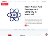 React Native App Development Company in Montreal CANADA | X-Byte