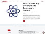 React Native App Development Company | CANADA | X-Byte
