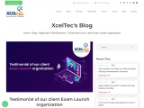 Testimonial of our client Exam Launch organization