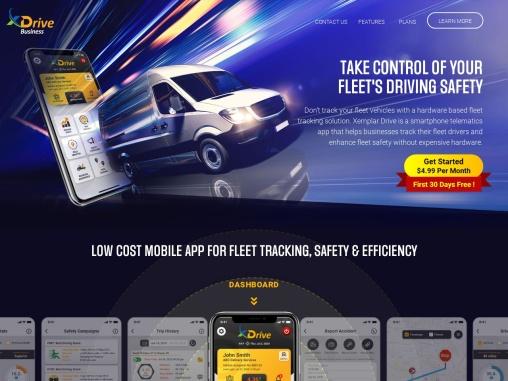 Fleet Tracking Solution for Fleet Safety & Efficiency – Xemplar Drive