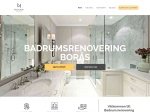 Badrumsrenovering Borås