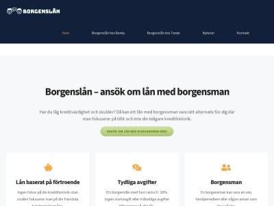 xn--borgensln-d3a.se
