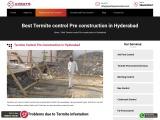 Best Termite Control Pre-construction Termite Control Services