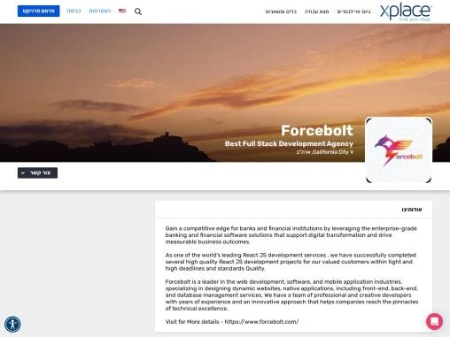 Best React JS Development services – Forcebolt