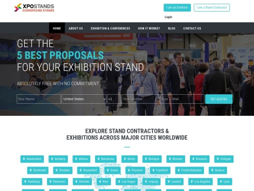 Exhibition Stand Builders in Europe