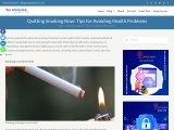 Quitting Smoking Now: Tips for Avoiding Health Problems – YesInformation
