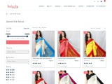 Garad Silk Sarees – Buy Pure Garad Silk Saree Online   Handloom Designer Garad Silk Sarees – Yespoho