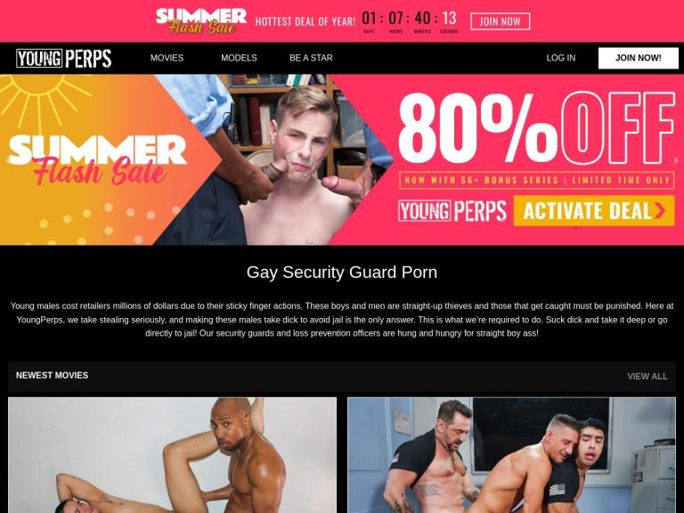 YoungPerps.com screenshot