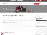 SOP Development, Business Development Standard Operating Procedures