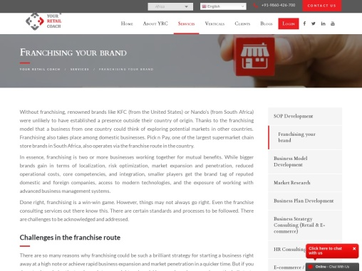 Franchising Your Brand, Franchise My Business, Franchise Your Business