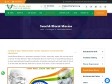 Swachh Bharat Mission in Delhi India
