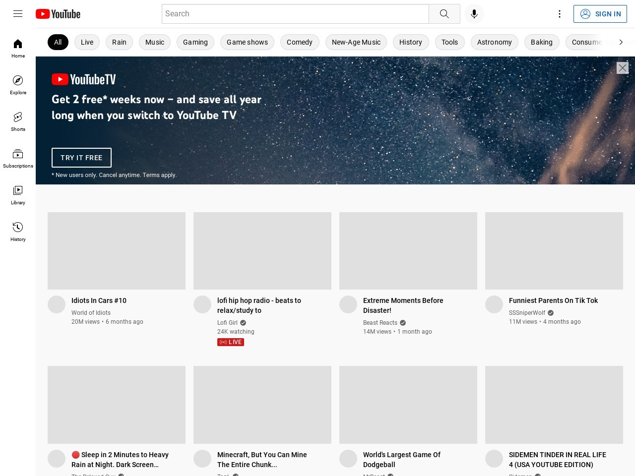 YouTube is not currently available on this device. - YouTube