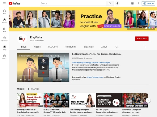 EngVarta – English Learning App to improve English