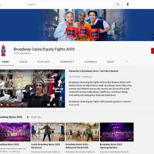 Broadway Cares/Equity Fights AIDS - YouTube