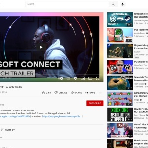UBISOFT CONNECT: Launch Trailer - YouTube