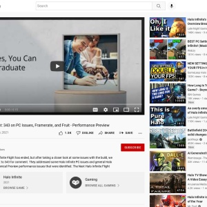 Halo Infinite Flight: 343 on PC Issues, Framerate, and Fruit - Performance Preview - YouTube