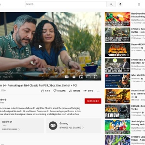 DF Retro EX: Doom 64 - Remaking an N64 Classic For PS4, Xbox One, Switch + PC! - YouTube