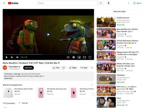Myna Nandhini | Husband Troll | KPY Bala | Chill Bro