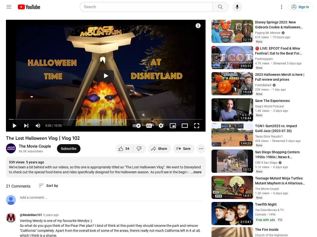 The Lost Halloween Vlog | Vlog 102