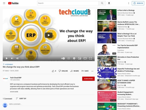 We change the way you think about ERP