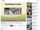 Fixed bollards Suppliers In UAE,  Fixed bollards In Dubai – BMTS Automatic Doors