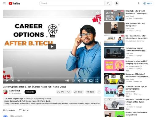 Career Options after B.Tech | Career Hacks 101
