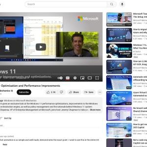 Windows 11: The Optimization and Performance Improvements - YouTube