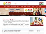 Distance Learning Program for MEDICAL(AIIMS|NEET) | IIT-JEE (Main|Advanced) – YVS Institute