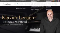 www.zapiano.com Vorschau, Zapiano