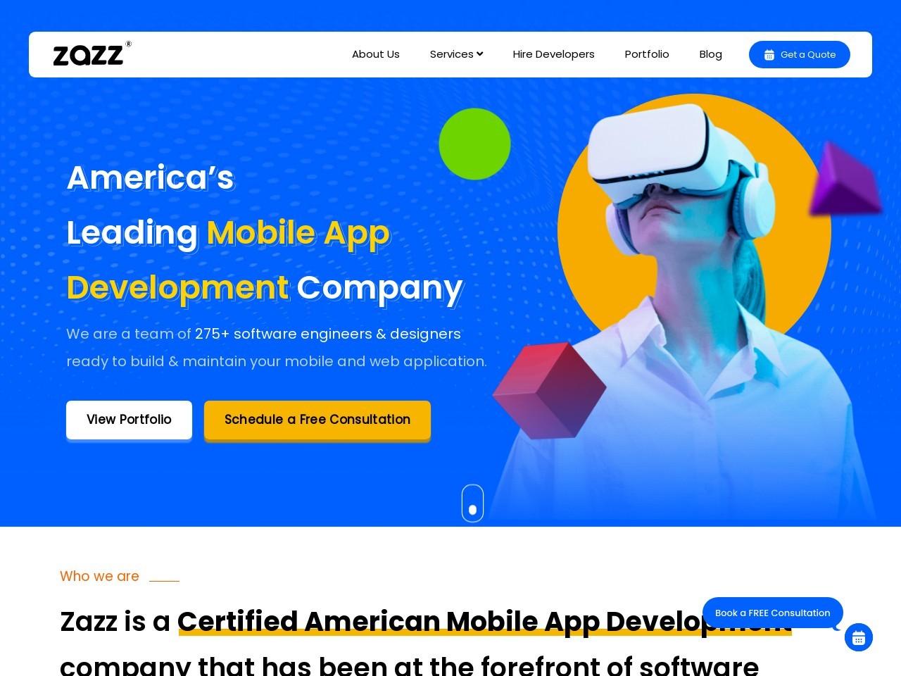 Best Fitness Mobile App Development Company in USA