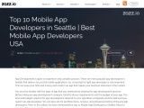 Top 10 Mobile App Developers in Seattle