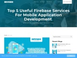 Top 5 Useful Firebase Services For Mobile Application Development