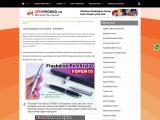 Souvenir Stylus Pen Multifungsi with Flashdisk kode FDPEN15