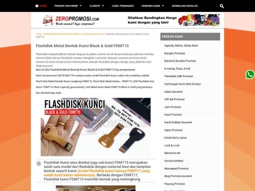 Souvenir USB Flashdisk Kunci FDMT15 Promosi Grosir Paling Murah