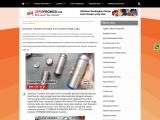 Jual Tumbler Promosi Tumbler Stainless Iris CO-310 Cetak Logo