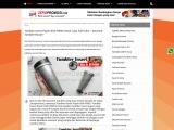 Jual Souvenir Tumbler Insert Paper Rich R900 Cetak Logo Murah