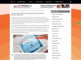 Produksi Souvenir Map Kancing Plastik Clear Transparan Murah