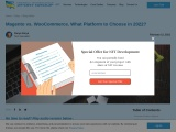 Magento vs. WooCommerce. What Platform to Choose in 2021?