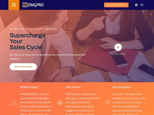 Market Research – Zingpro consulting