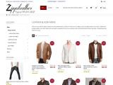 Leather Blazer Men's – Men's Slim Fit Leather Blazer Jackets