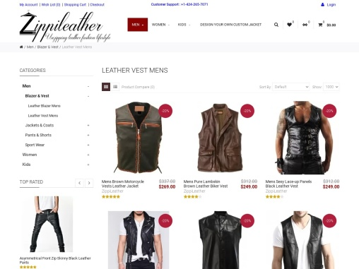 Leather Vest for Men- Styling Element for Bikers