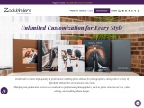 Customized photo albums from Zookbinders weeding album companies for photographers