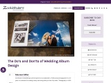 The Do's and Don'ts of Wedding Album Design