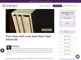 From Texas With Love: Zook Book Triple Album Set
