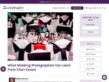 What Wedding Photographers Can Learn From Chair Covers