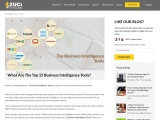What are the top 15 business intelligence tools?